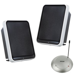 Wireless Lautsprecher - Stereo Funk-Lautsprecher Set mit BASSBOOST